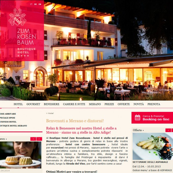 Hotel Rosenbaum – Nals (BZ)