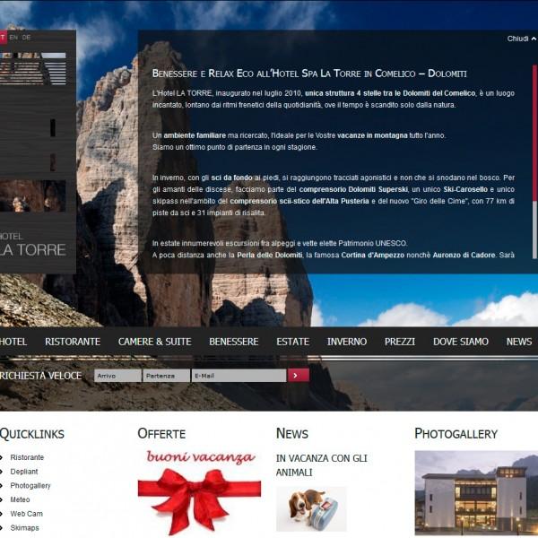 Hotel la Torre **** – Padola – Comelico Superiore (BL)