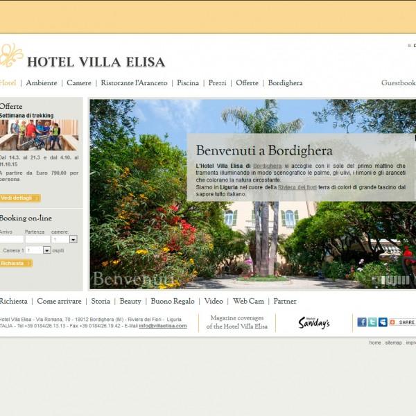Hotel Villa Elisa *** Bordighera – Liguria