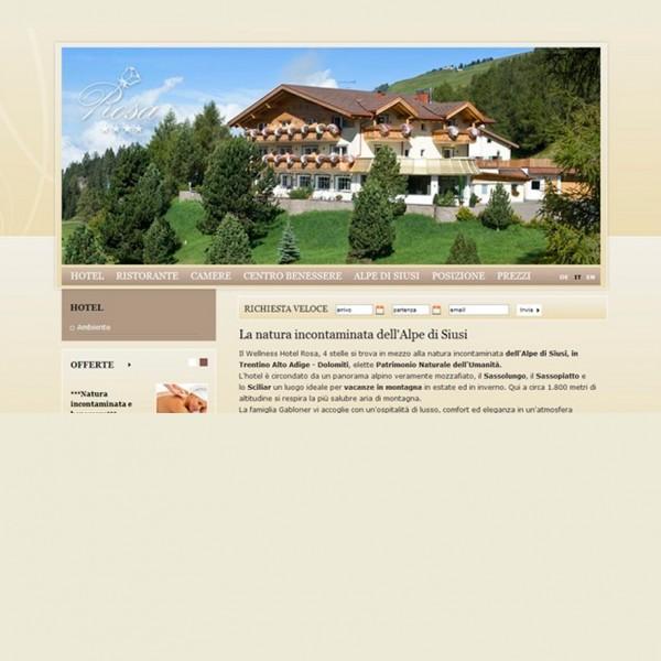 Hotel Rosa **** Seiser Alm (BZ)