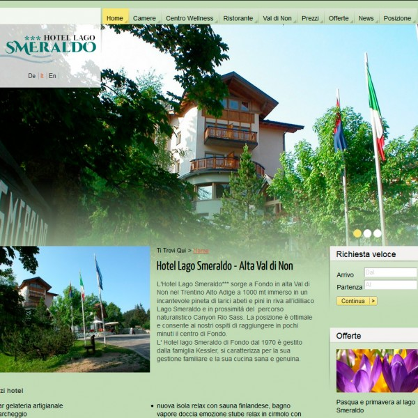 Hotel Lago Smeraldo *** – Fondo