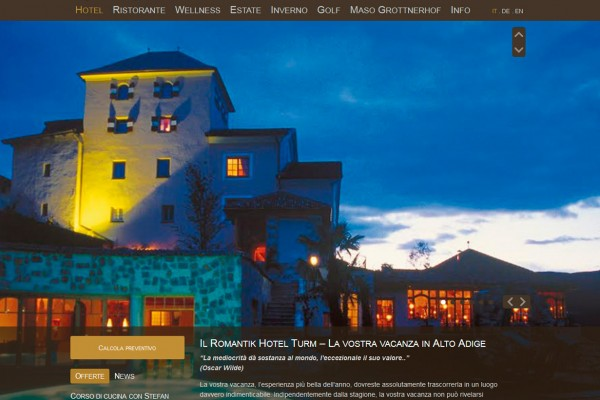 Romantik Hotel Turm ****s – Völs am Schlern
