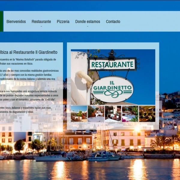 Ristorante Pizzeria Il Giardinetto – Ibiza