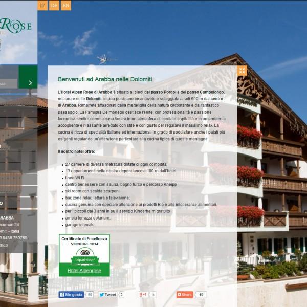 Hotel Alpen Rose Arabba – Dolomiti