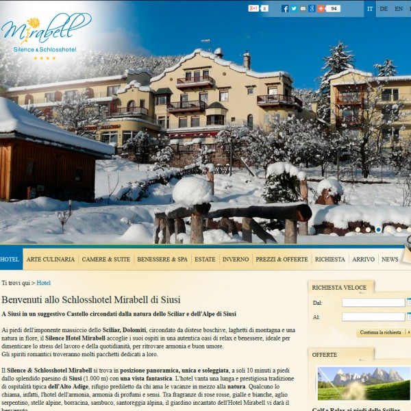 Hotel MIrabell – Siusi (BZ)