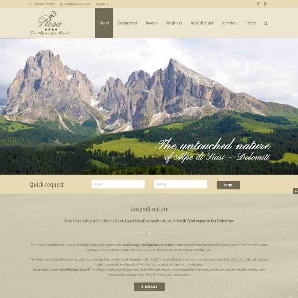 Hotel Rosa **** Alpe di Siusi (BZ)