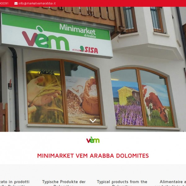 Mini Market Vem – Arabba (BL)
