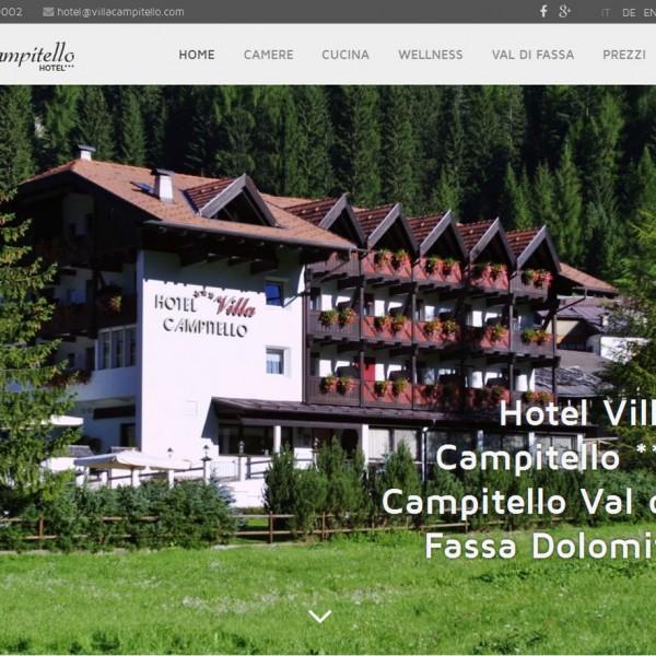 Hotel Villa Campitello *** Campitello di Fassa (TN)