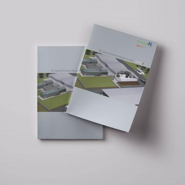 Depliant degli impianti di Schamck Biogas